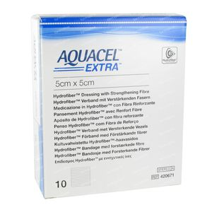 Aquacel Extra 5x5cm 10 stuks