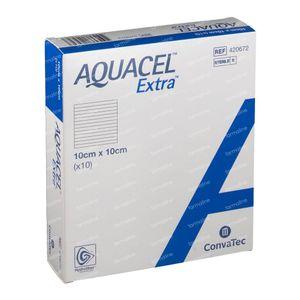 Aquacel Extra 10x10cm 10 stuks