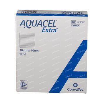 Aquacel Extra 10 x 10cm 10 stuks