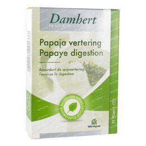 Damhert Papaye Digestion 32 capsules