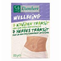 Damhert 7-herbes Transit 40  comprimés