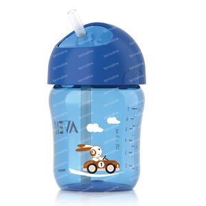 Avent Mug Anti-Leak + Straw 12m 260 ml