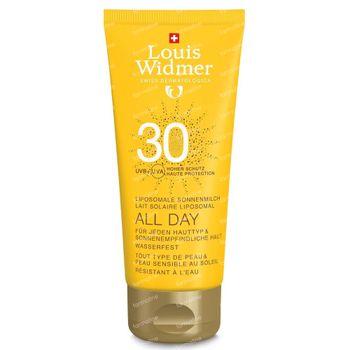 Louis Widmer All Day SPF30 Zonder Parfum 100 ml