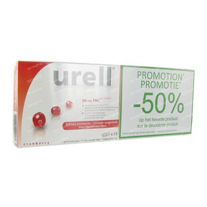 Urell Express Duo 2nd At -50% 15 stuks Capsule