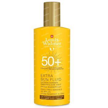 Louis Widmer Extra Sun Fluid SPF50 Zonder Parfum 100 ml