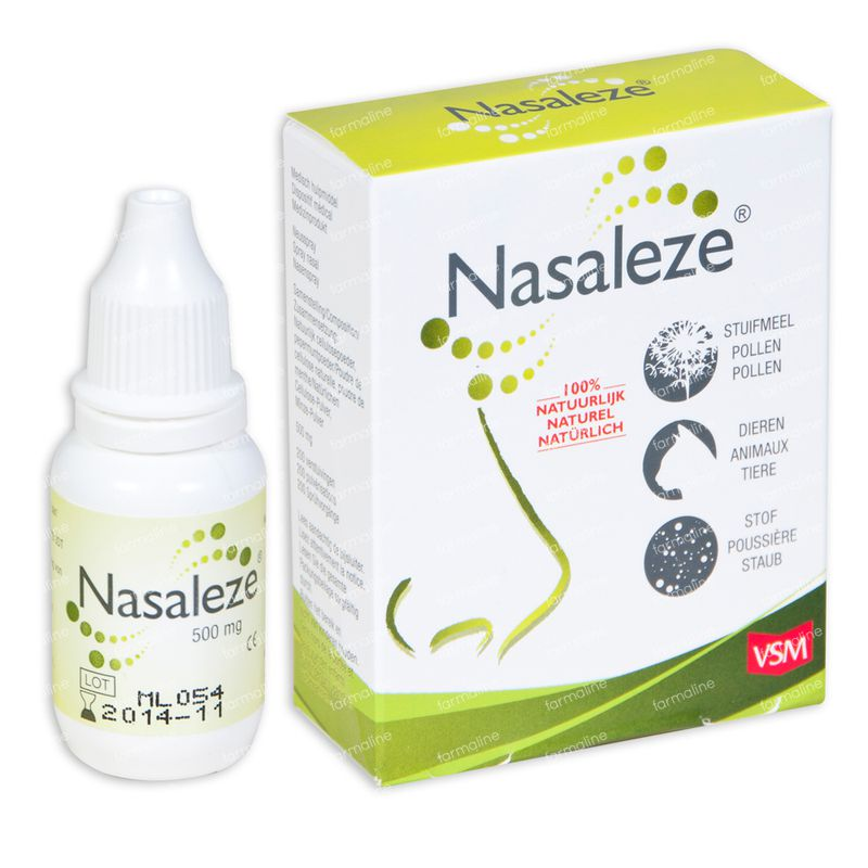 10e000vsm: Vsm Nasaleze Spray Nasal 500mg 0,50 G Commander Ici En