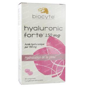 biocyte hyaluronic forte 150mg 30 comprim s commander ici en ligne. Black Bedroom Furniture Sets. Home Design Ideas
