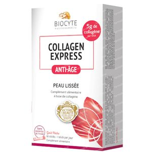 Biocyte Collagen Express Sticks 10x6 g