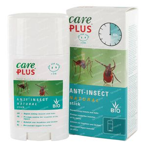 Care Plus Natural Anti-Insect Stick Bio 50 ml