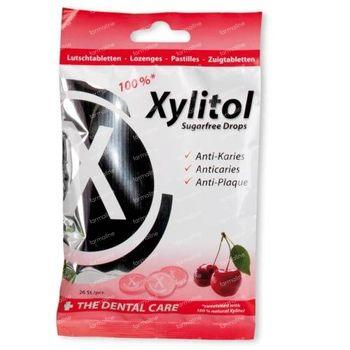 Miradent Xylitol Drops Cerise 26 comprimés à sucer