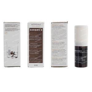 Korres Quercetin & Oak Oogcrème 15 ml crème