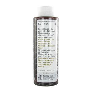 Korres Shampoo Rijst Proteïnen & Linden 250 ml