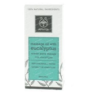 Apivita Eucalyptus Massage Olie Voor De Winter 50 ml fles
