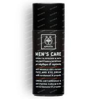 Apivita Men Care Crème Visage & Yeux Anti-Rides & Anti-Fatigue 50 ml flacon
