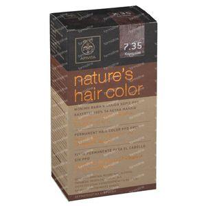 Apivita Coloration Capillaire N7.35 Caramel 1 pièce