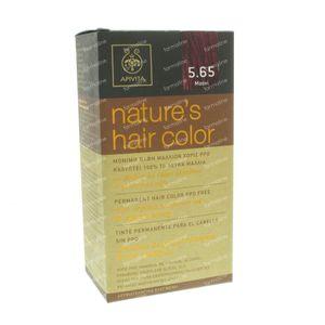 Apivita Natuurlijke Haarkleuring N5.65 Mahonie 1 St