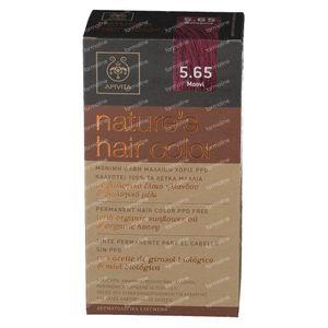 Apivita Natuurlijke Haarkleuring N5.65 Mahonie 1 stuk