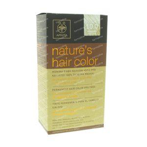 Apivita Natuurlijke Haarkleuring N10.0 Heel Heel Licht Blond 1 St