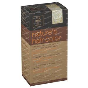Apivita Natuurlijke Haarkleuring N10.0 Heel Heel Licht Blond 1 stuk