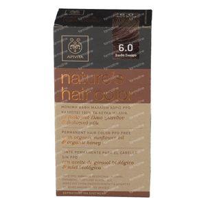 Apivita Natuurlijke Haarkleuring N6.0 Donker Blond 1 stuk