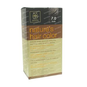 Apivita Natuurlijke Haarkleuring N7.0 Blond 1 St