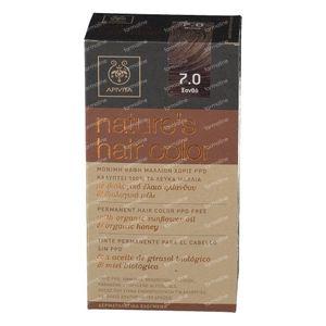 Apivita Natuurlijke Haarkleuring N7.0 Blond 1 stuk