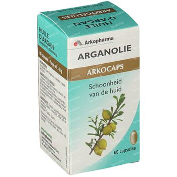 Arkogélules Huile D'Argan 60 capsules