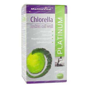 Mannavital Chlorella Platinum 240 tabletten