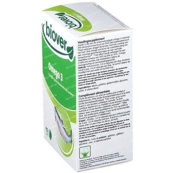 Biover EPA Oméga 3 500mg 80 capsules