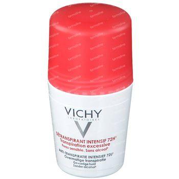 Vichy Deodorant Anti-Transpiratie Stress Resist 72h 50 ml roller