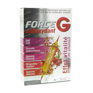 Nutrisante Force G Antioxydant 200 ml ampullen