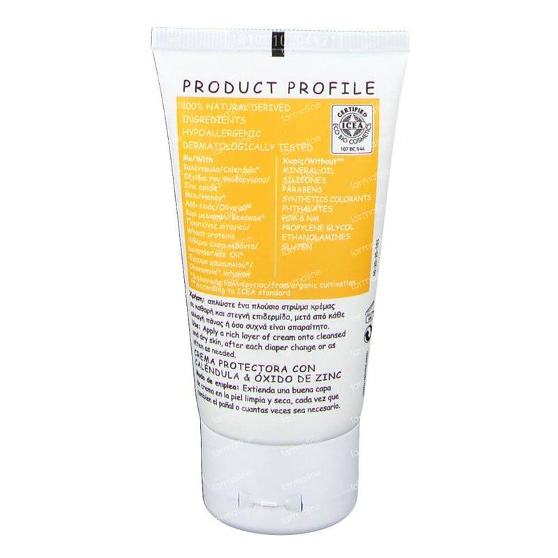 Apivita Baby Barrier Cream With Calendula Amp Zinc Oxide 75