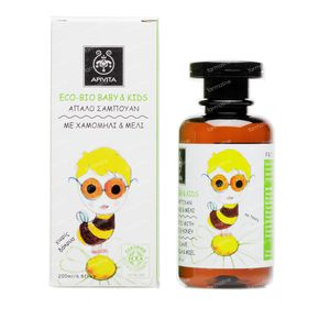 Apivita Baby Mild Shampoo With Chamomile & Honey 200 ml bottle