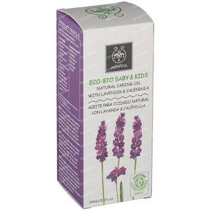 Apivita Baby Natural Caring Oil With Calendula & Lavender 150 ml bottiglia