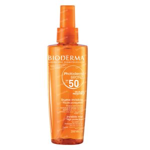 Bioderma Photoderm Bronz SPF50 Droge Olie 200 ml flacon