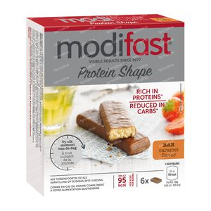 Modifast Protiplus Barre Caramel 162 g