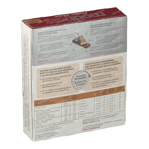 Modifast Protiplus Barre Chocolate Noir 162 g