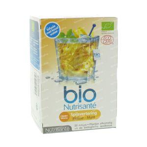 Nutrisanté Cold Infusion Digestion 20 beutel