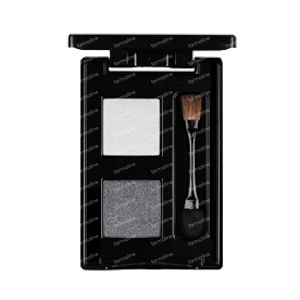 Les Couleurs De Noir Eyeshadow Duo Black/Silver 01 1 item