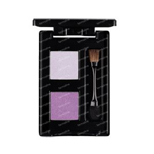 Les Couleurs De Noir Eyeshadow Duo Lilac/Plum 03 1 item