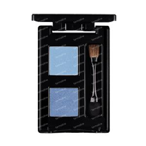 Les Couleurs De Noir Eyeshadow Duo Ice/Marine 04 1 item