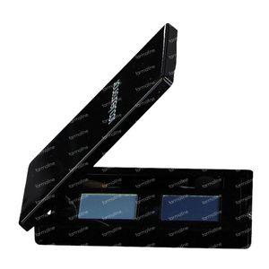 Les Couleurs De Noir Ombres à Paupières Duo Ice/Marine 04 1 pièce