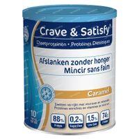Crave & Satisfy Diet Proteine Karamell 200 g pulver