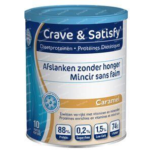 Crave & Satisfy Protéines Diététique Caramel 200 g poudre