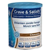 Crave & Satisfy Diet Proteine Schokolade 200 g pulver