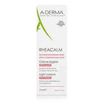 A-Derma Rheacalm Crème Apaisante Légère 40 ml