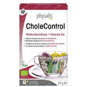 Physalis CholeControl Infusion Bio 20 sachets