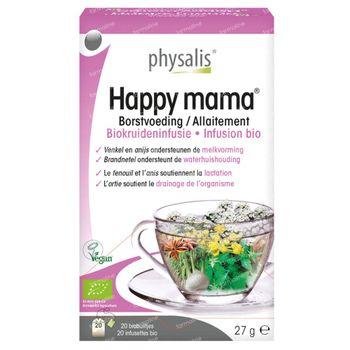 Physalis Happy Mama Allaitement Infusion Bio 20 sachets