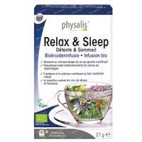 Physalis Relax & Sleep Infusion Bio 20  sachets