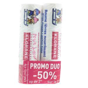 Klorane Petit Junior Lipsbalm Duo 8 g